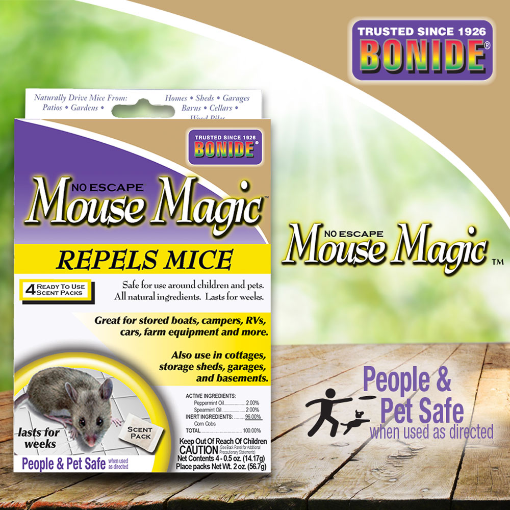 Mouse Magic® Ready-to-Use Scent Packs