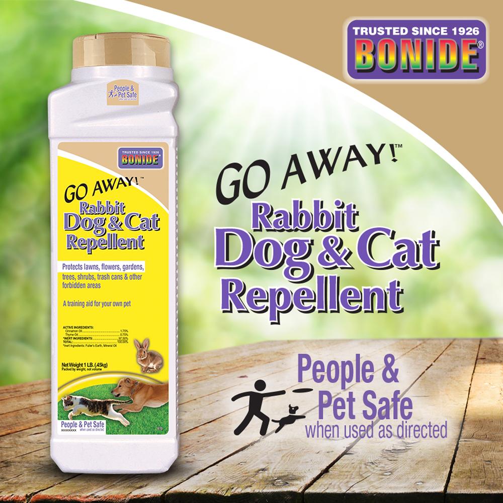 Go Away!® Rabbit, Dog, & Cat Repellent Granules