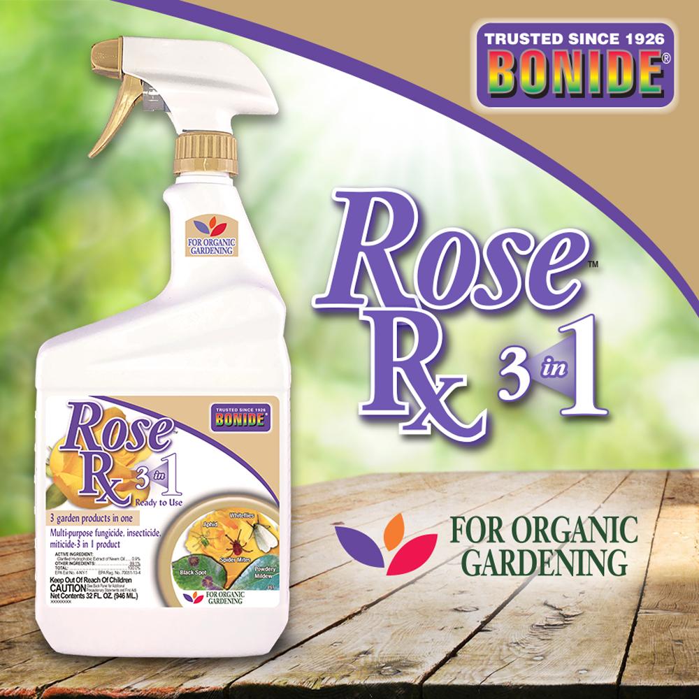 Rose Rx® 3-in-1 Spray RTU