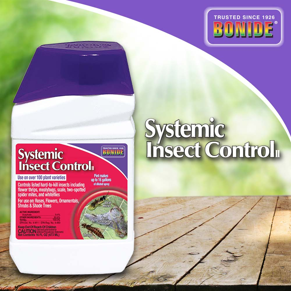 Systemic Insect Control Conc