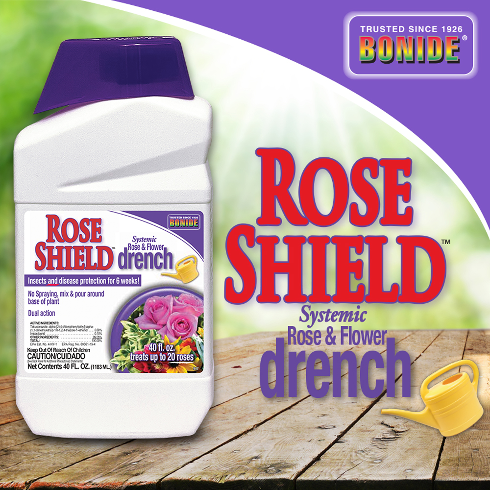 Rose Shield™ Systemic Rose & Flower Drench