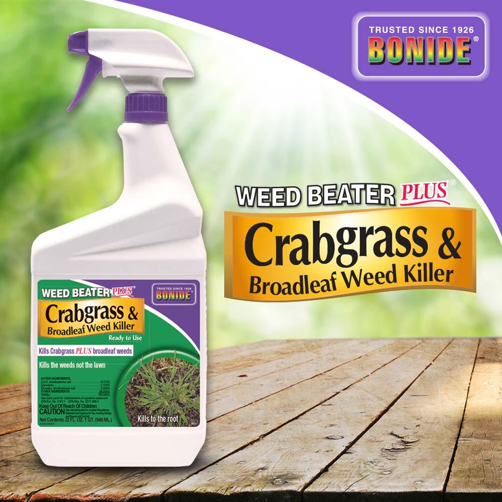 Weed Beater® Plus Crabgrass & Broadleaf Weed Killer RTU
