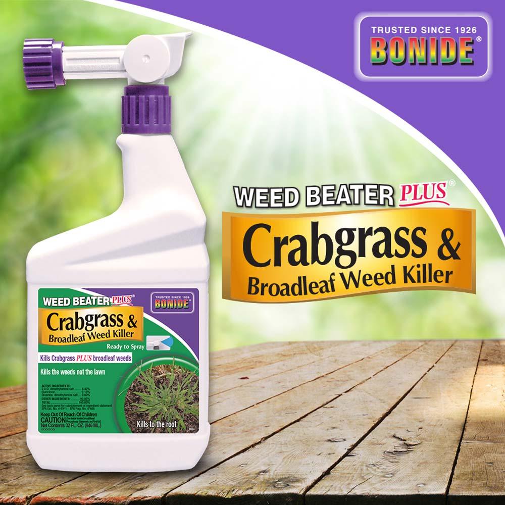 Weed Beater® Plus Crabgrass & Broadleaf Weed Killer RTS