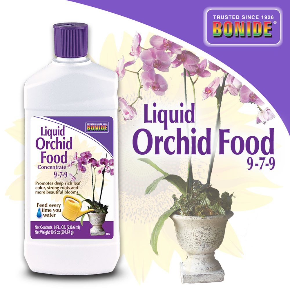 Liquid Orchid Food 9-7-9 Conc