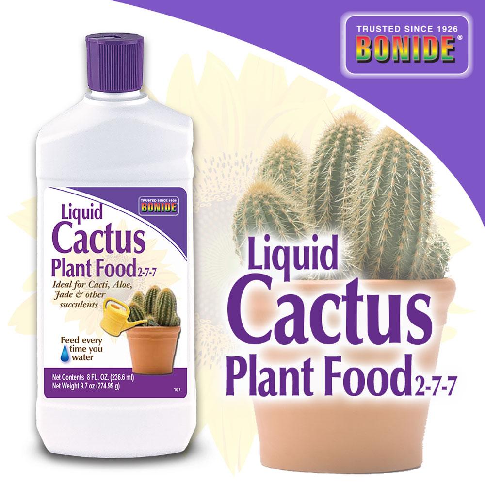 Cactus Food 2-7-7 Conc