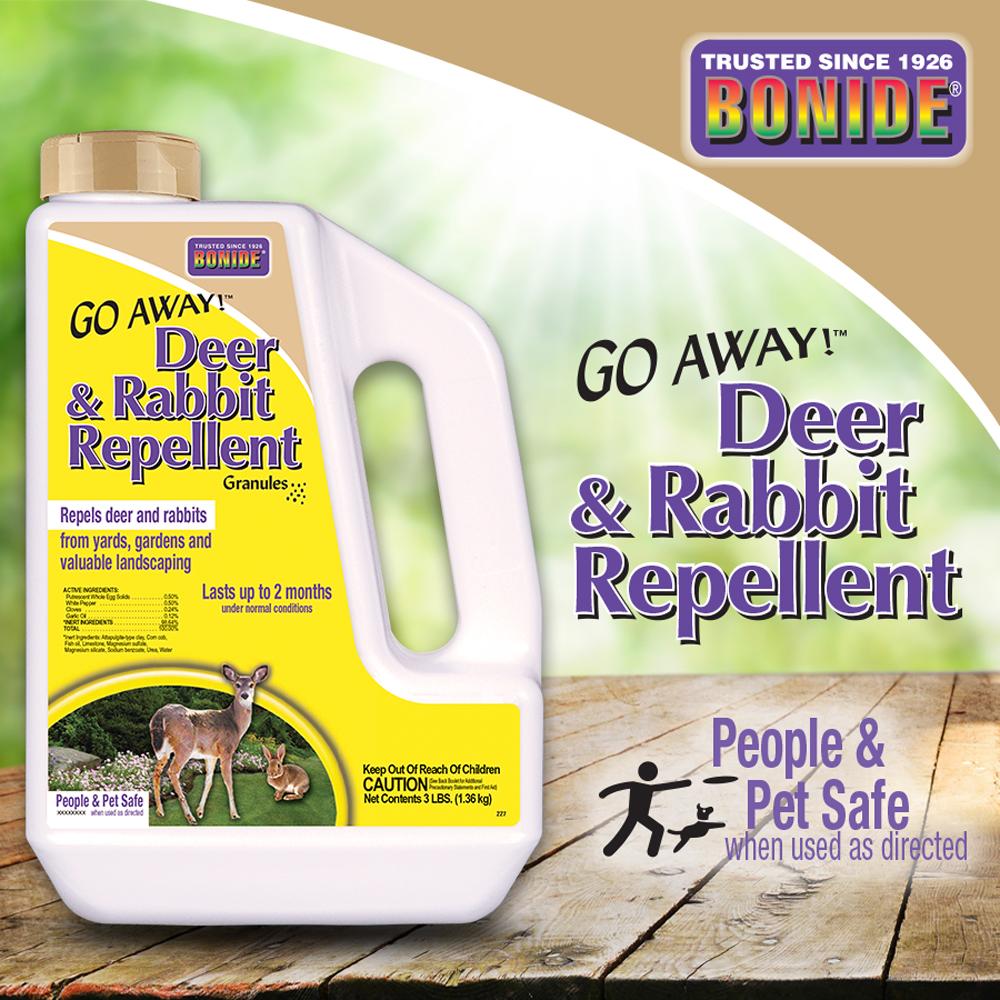 Go Away!® Deer ad Rabbit Repellent Granules