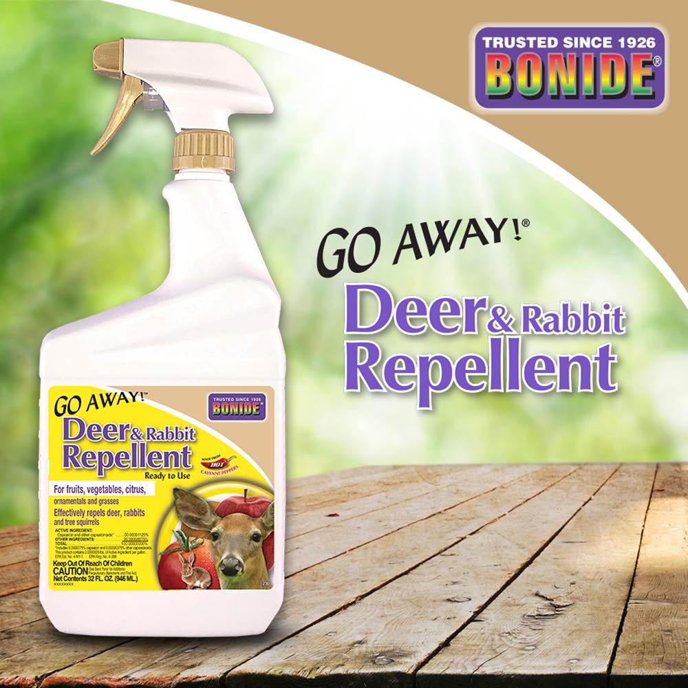Go Away!® Deer & Rabbit Repellent RTU