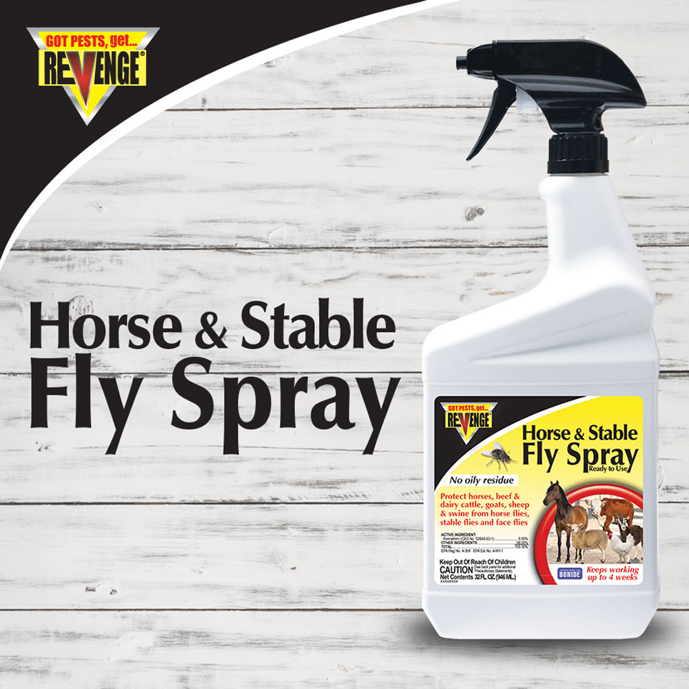 Revenge® Horse & Stable Fly Spray RTU