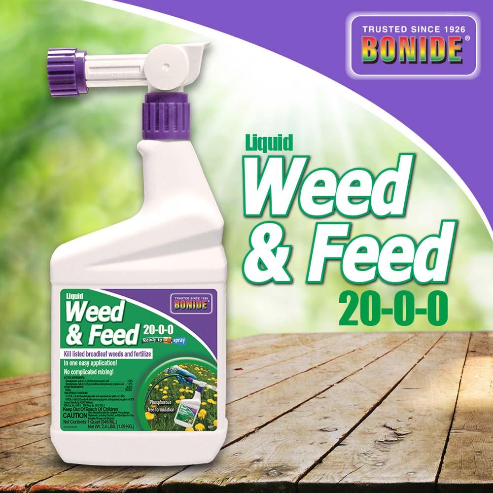 Liquid Weed -N- Feed 20-0-0 RTS