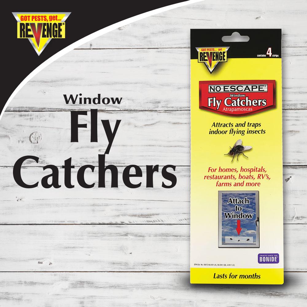 REVENGE®  Window/Screen Fly Catcher