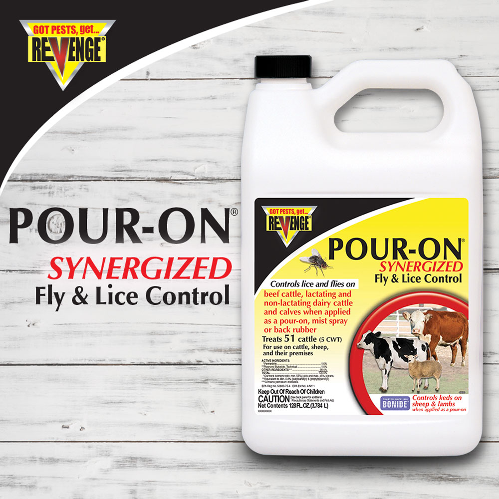 Revenge® Pour-On™ Fly Control