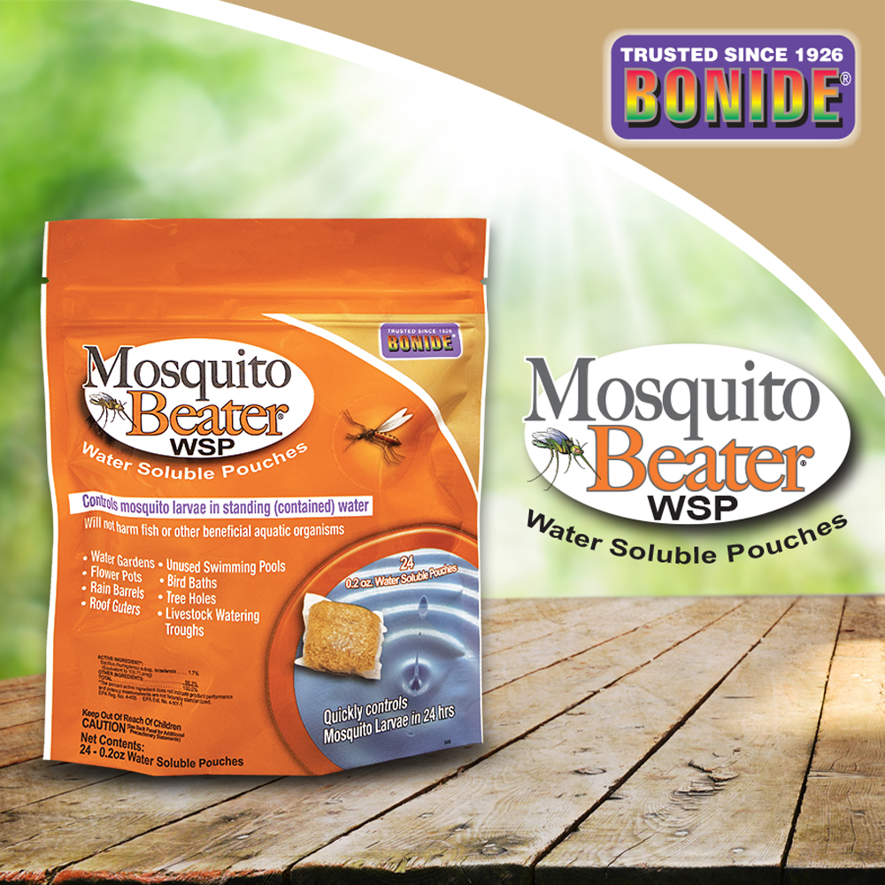 Mosquito Beater® Water Soluble Pouches